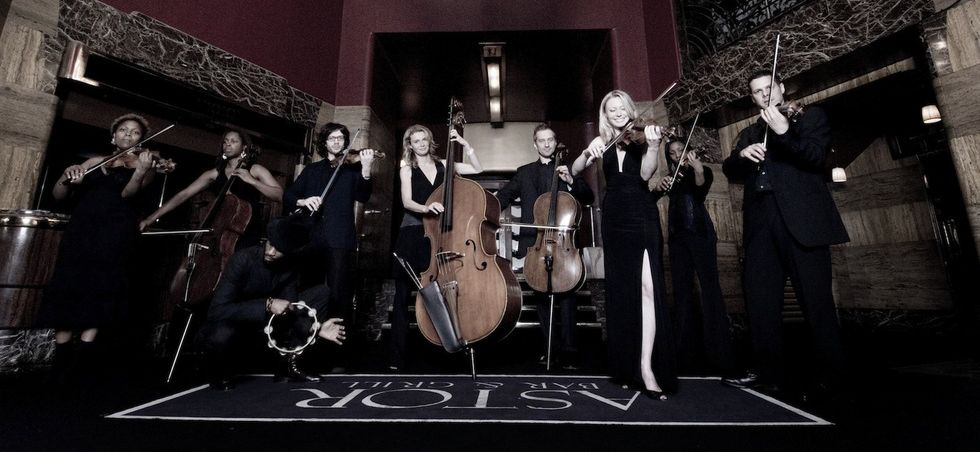 Acoustic Ensemble Astor London. Photo By Sim Cannetty Clarke