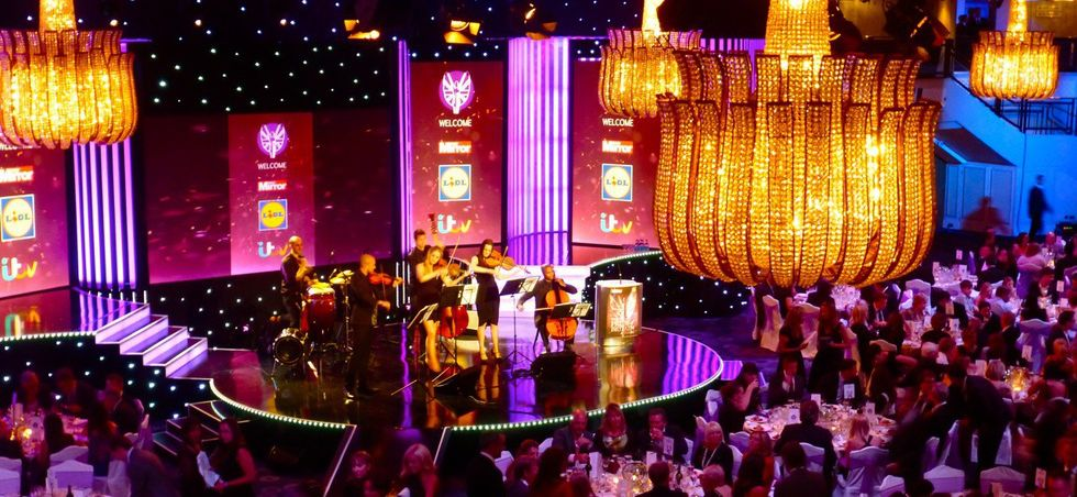Acoustic Ensemble Pride Of Britain Awards Grosvenor House