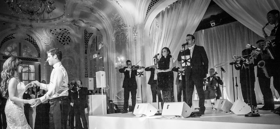 Little Swing Band Wedding The Savoy 2013 Photo By Debbie Flett