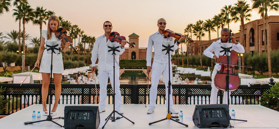 Chill Out Set Selman Palace Marrakech