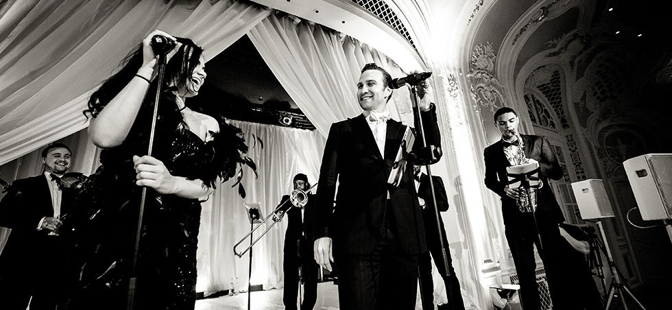Little Swing Band Wedding The Savoy 2013. Photo By Pippa Mackenzie