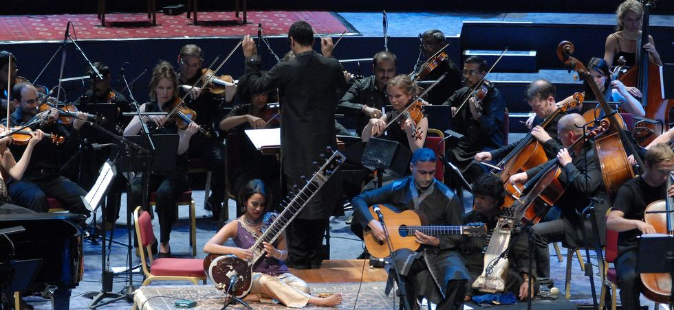 BBC Proms with Nitin Sawhney & Anoushka Shankar at Royal Albert Hall