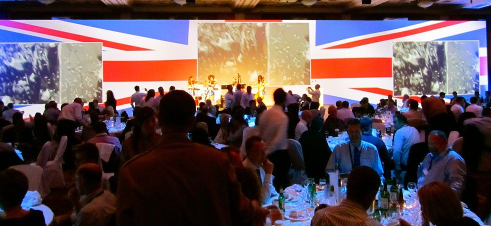 Best of British Awards Ceremony Celtic Manor