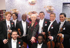 Annie Lennox And USO Strictly Come Dancing Nov 2014