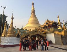 Myanmar: Group Pagoda