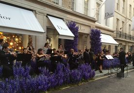 Dior Outside Orchestra and Conductor