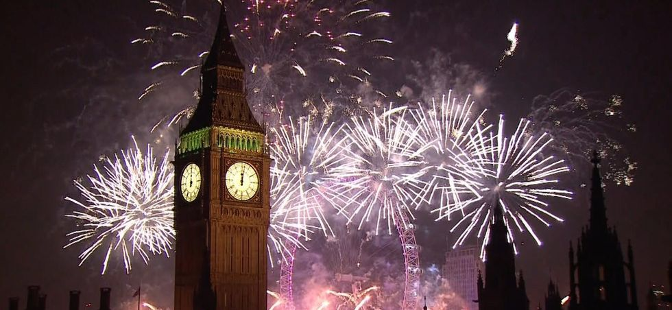 NYE London Fireworks
