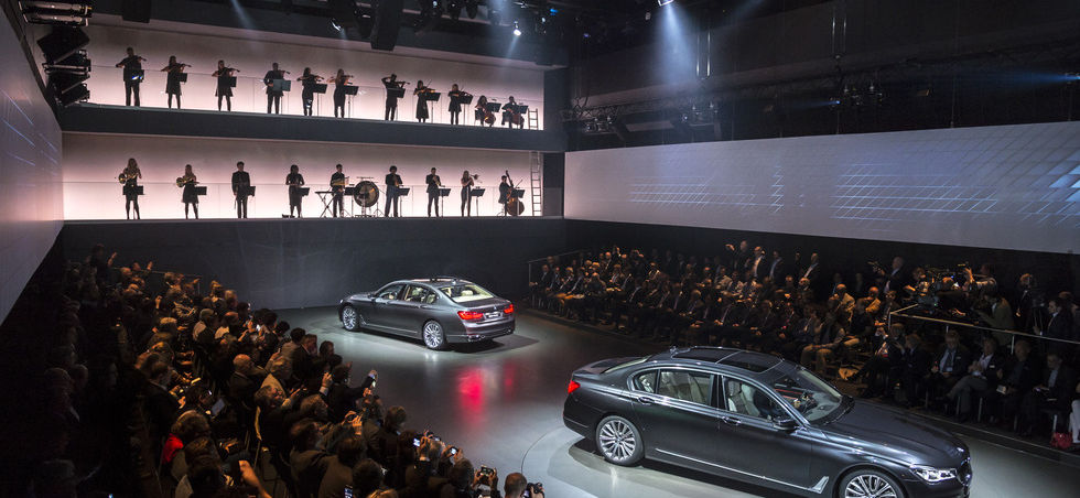 BMW 7 Series Launch Munich